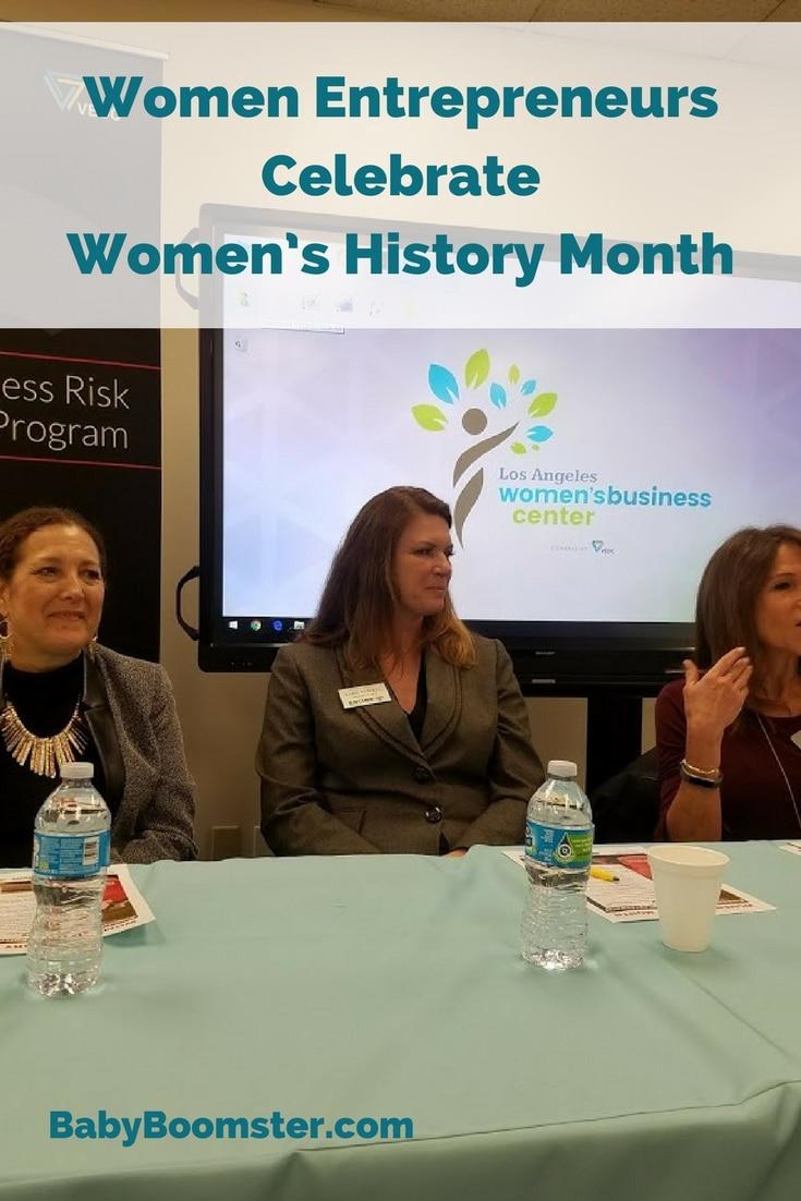 Baby Boomer Women | Women Entrepreneurs | Women's History Month