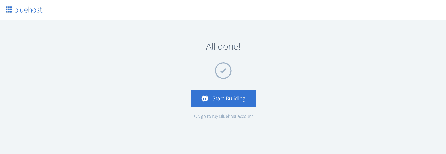 Baby Boomer blogging | hosting | Bluehost start building