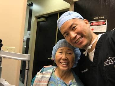 Baby Boomer Women | Wellness | Cataract Surgery - Dr. Daniel Chang M.D, and Mom
