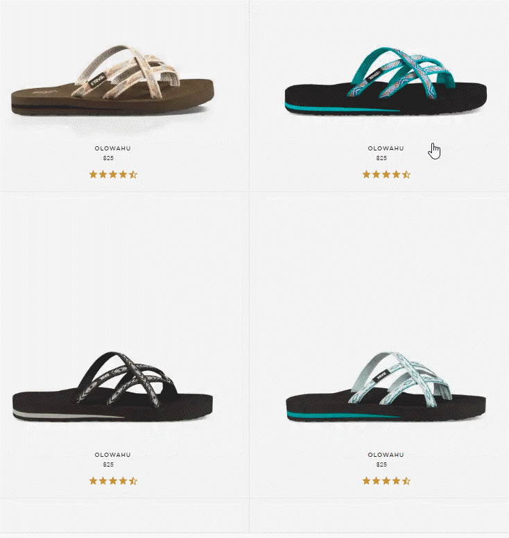 Comfortable and supportive Teva Flip Flops with prevent you from falling and look adorable. Make sure to get some for your summer vacation needs. #sandals #flipflops #Teva #AD