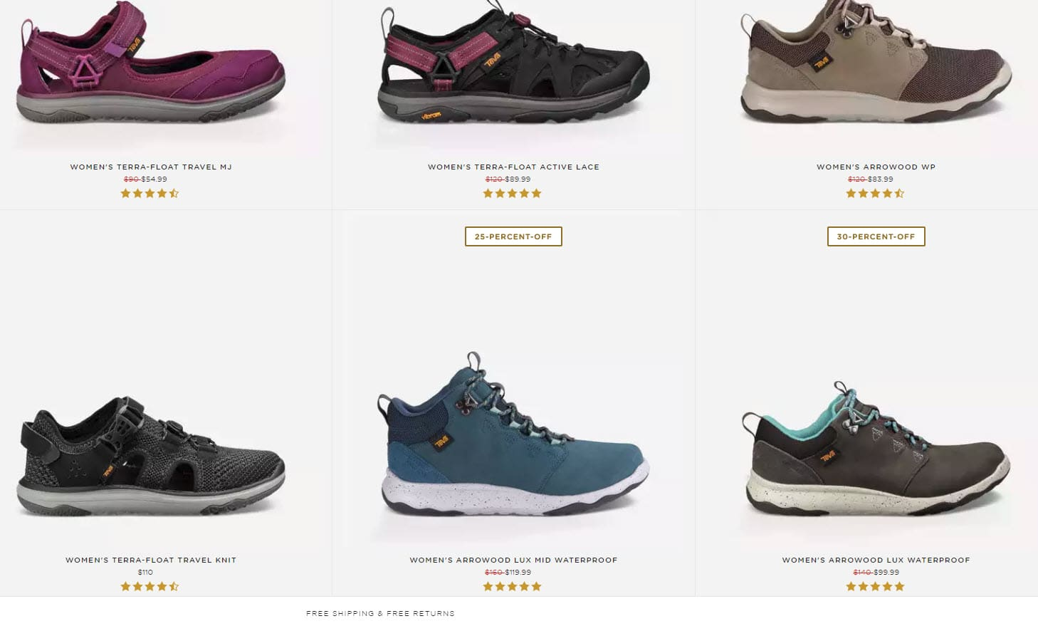 Baby Boomer Women | Fashion over 50 | Teva Floatlite Sneakers