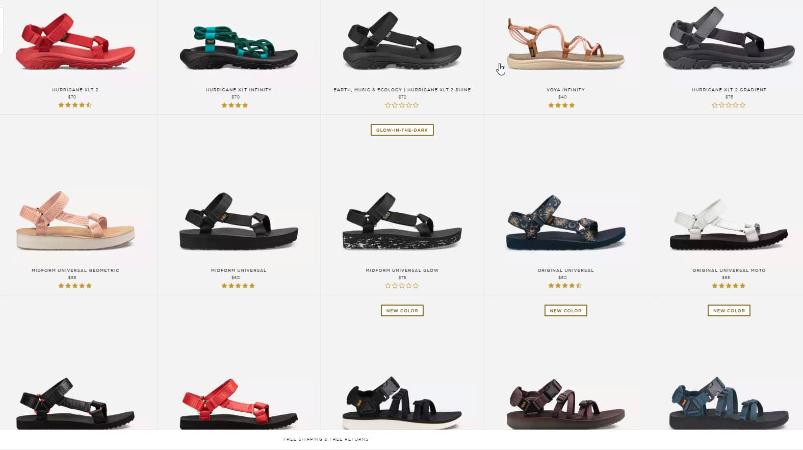 Baby Boomer Women | Fashion Over 50 | Teva Sandals
