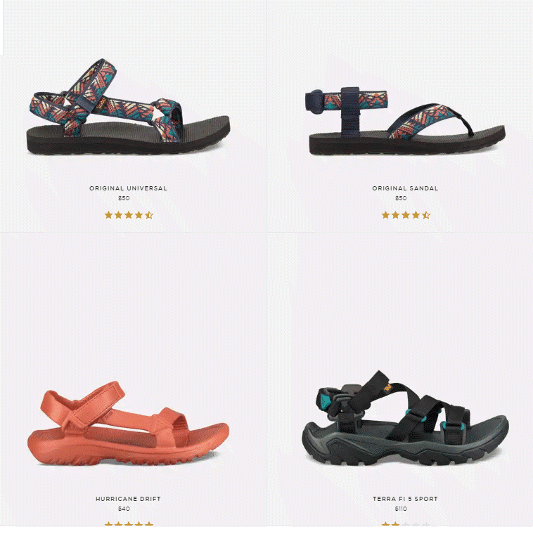 New sandals from Teva that you won't fall out of Spring 2019 - Comfortable and supportive for all your spring and summer activities