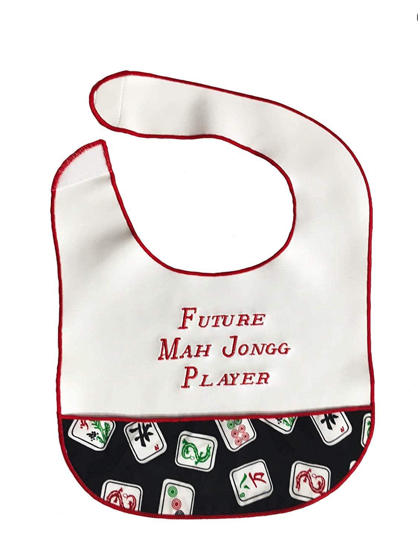 Future Mah Jongg Player bib