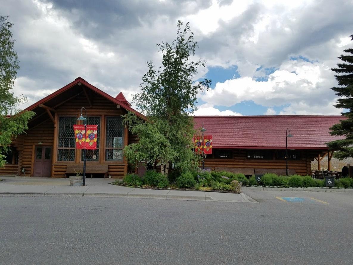 Lake Louise Train Station #restaurant #BanffNationalPark