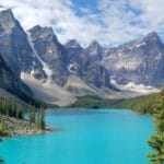 Moraine Lake and Johnston Canyon – With a Little Wildlife Thrown In – BC Canada