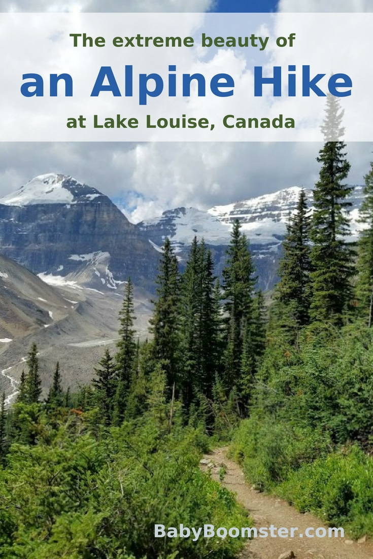 My alpine #hike at Lake Louise, in #Canada - I#over50 #babyboomers