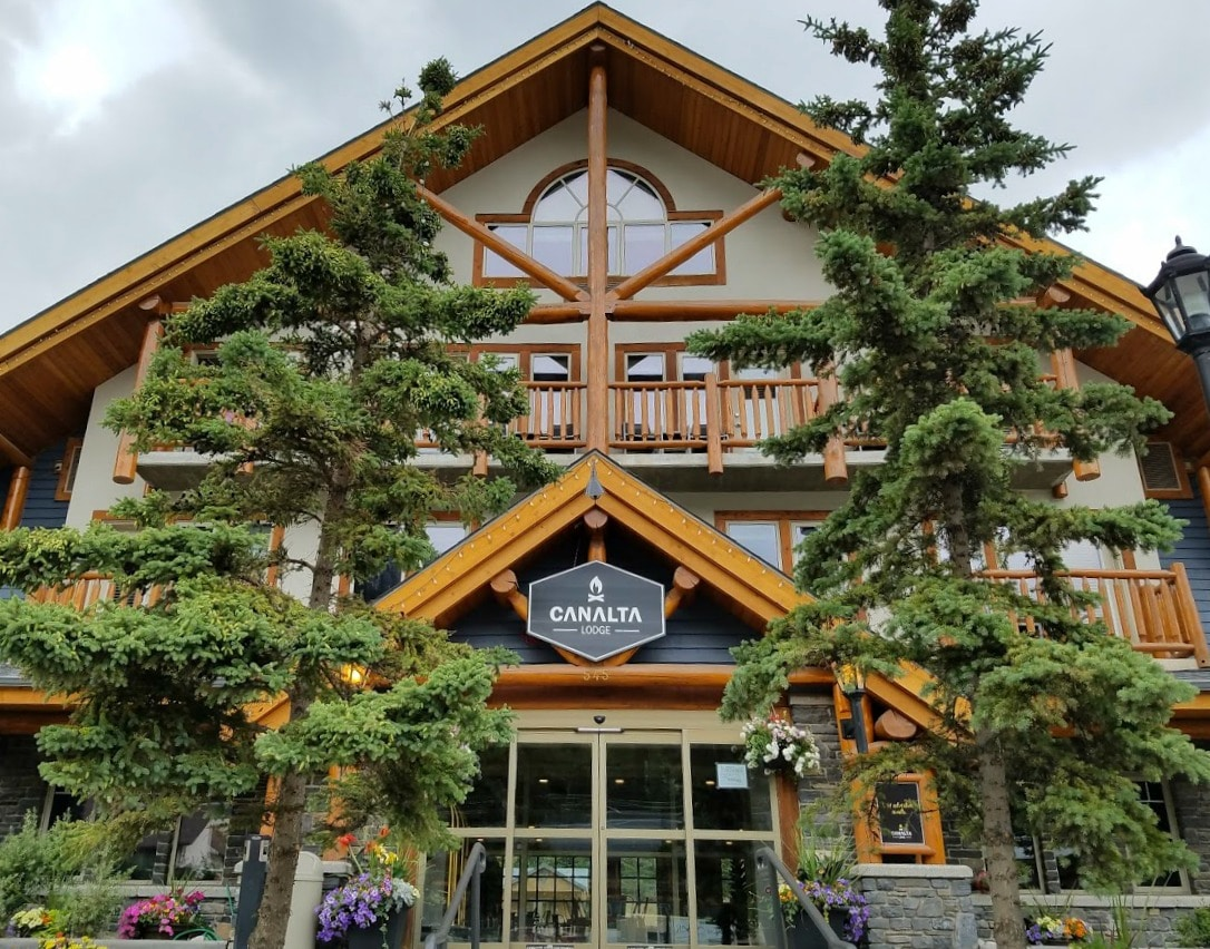 We stayed at the Canalta Lodge - #Banff, #Canada #Hotel