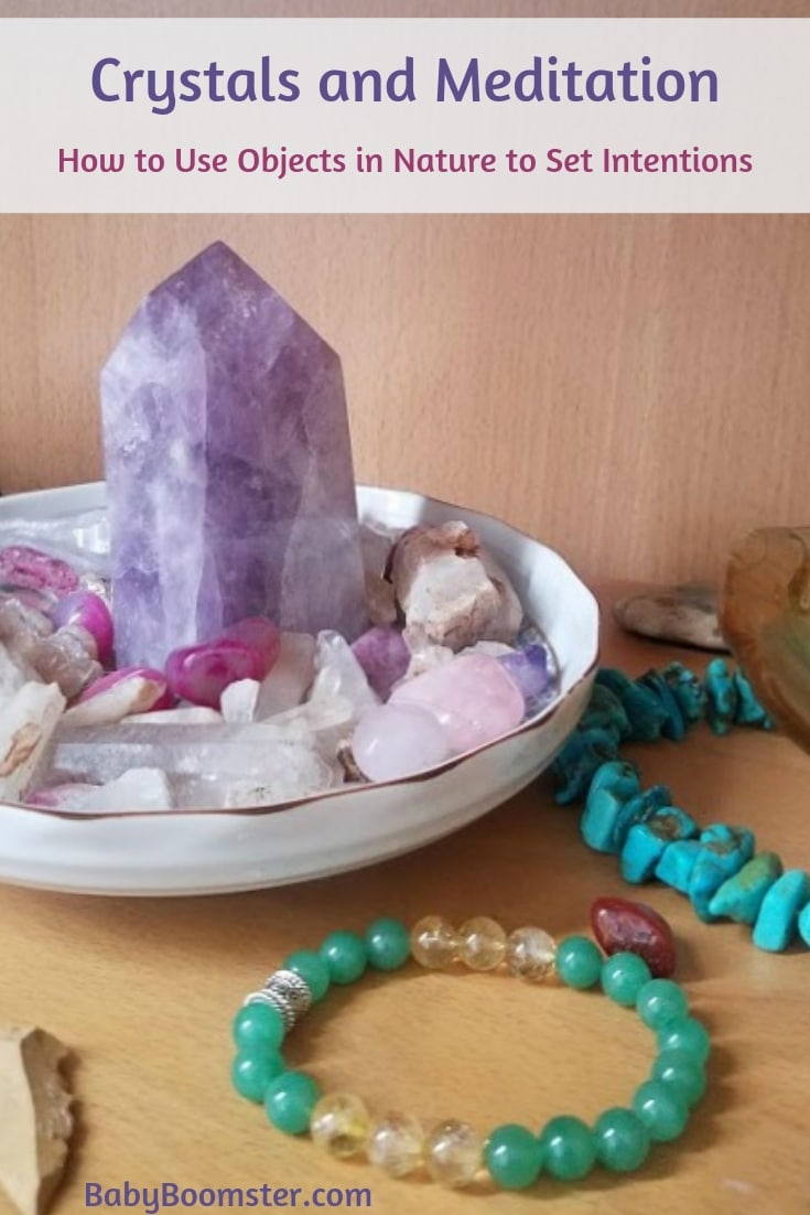 Crystals and Meditation: How to Use Objects in Nature to Set Intentions #meditation #crystals #relaxation #intention