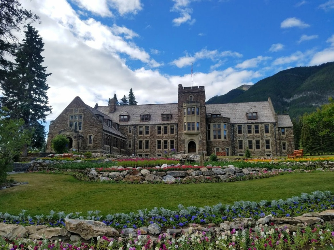 Banff National Park Administration Building - Cascade Garden