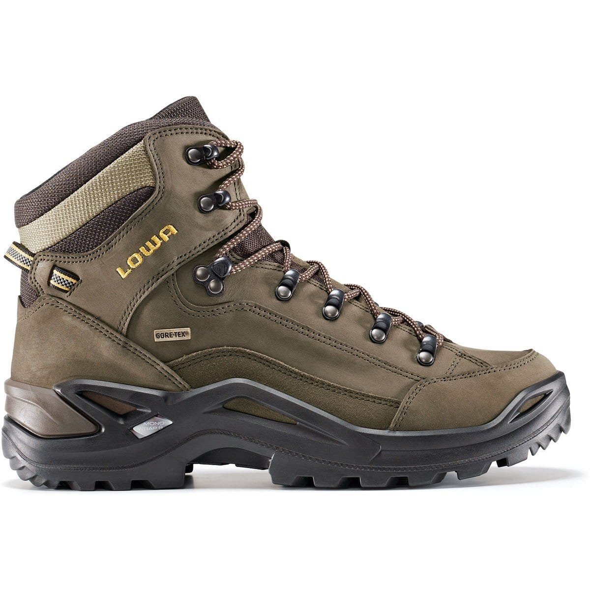 LOWA RENEGADE GTX MID HIKING BOOT - WOMENS - A good quality hiking boot for women from Paragon Sports #hiking #boots #affiliate