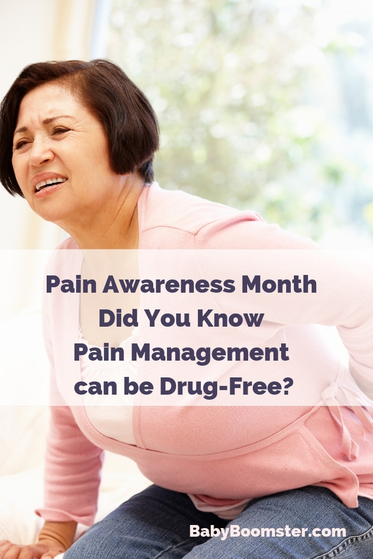 Did you know Pain Management can be drug-free - pain awareness month #Omron #ad #OmronAvail