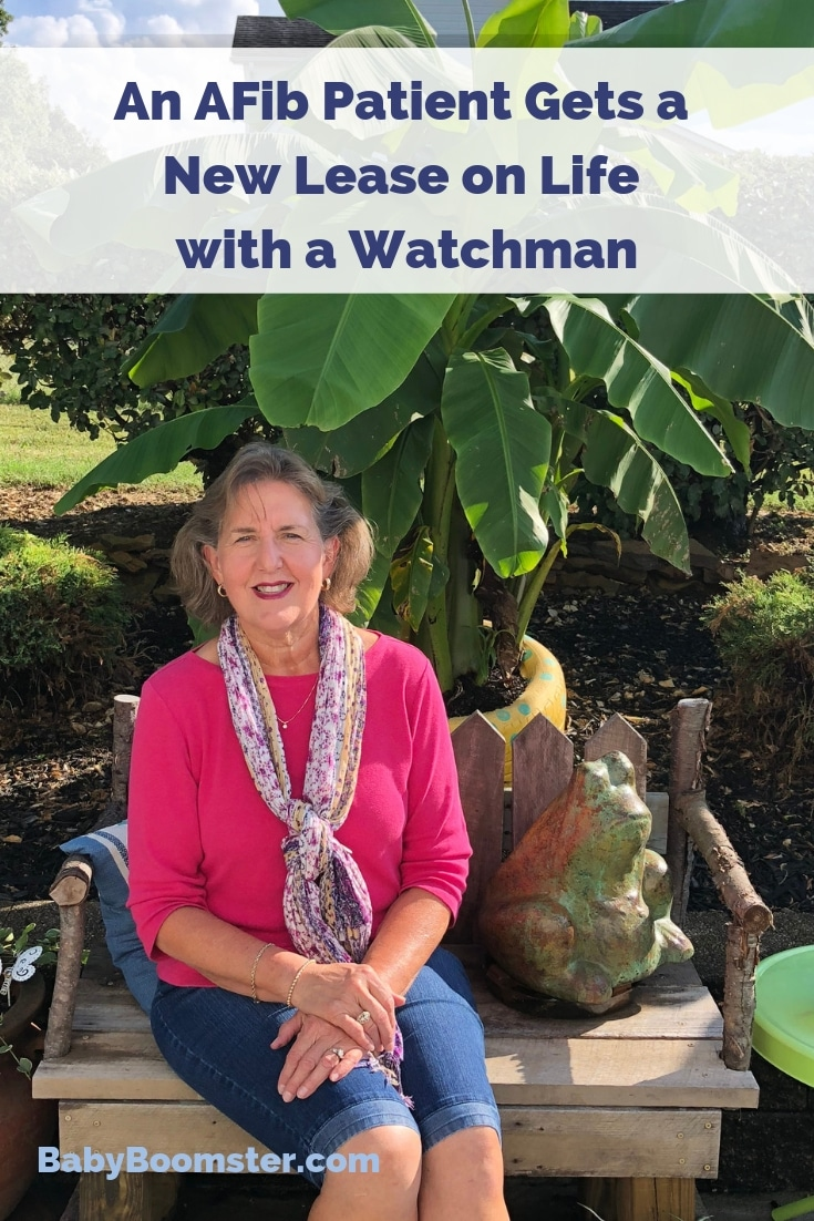 AFib patient Jan Mitchell tells her story about how the Watchman has helped to prevent her risk of stroke. #patient #Afib #doctors #medical #heartdisease