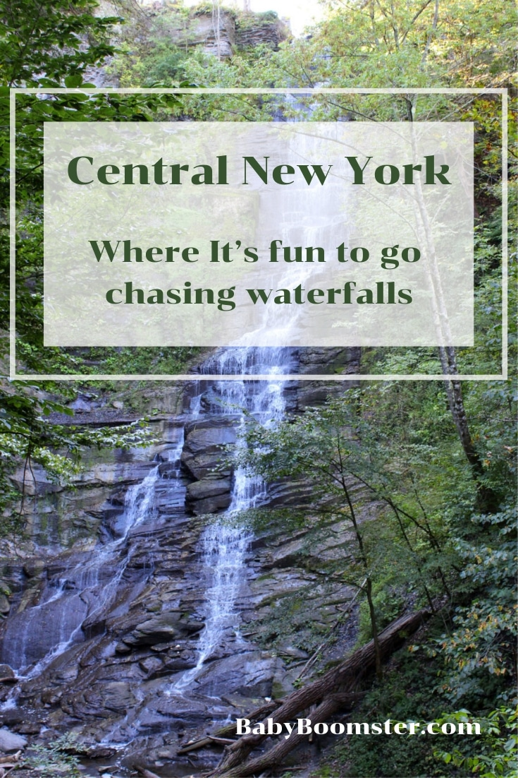 Central New York - Where it's fun to go chasing waterfalls - #NewYork #travel #waterfalls