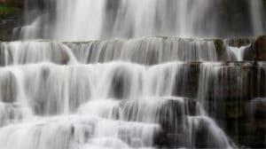 Chittenango waterfall in Central State New York - #travel #waterfalls #NewYork