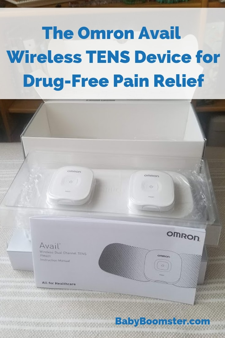 Omron Avail Wireless TENS device - drug-free pain relief #ad #OmronHealthcare #Avail