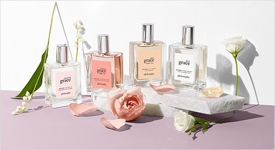 Grace Roses Collection from Philosophy skincare comes in travel sizes #ad #skincare #Philosophy