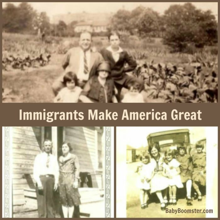 Immigrants make America Great - Be proud of your roots #Ancestry #DNAtest #family #roots