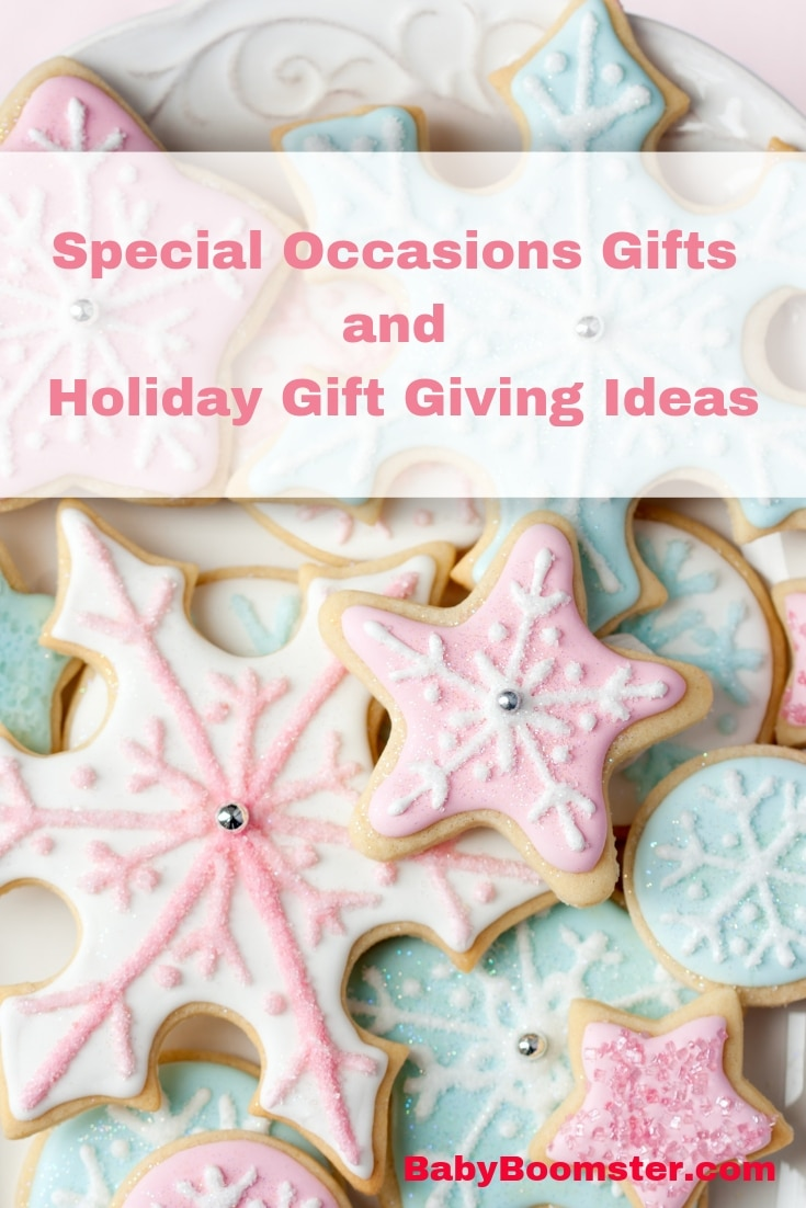 Special Occasions Gifts and Holiday gift ideas for women over 50 #womenover50 #giftgiving #holidays #babyboomers #shopping #onlineshopping #onlinegifts #giftrecommendations