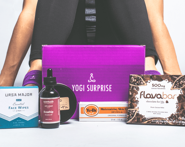 Yoga Surprise Box - monthly #giftbox for #Yoga lovers #ad