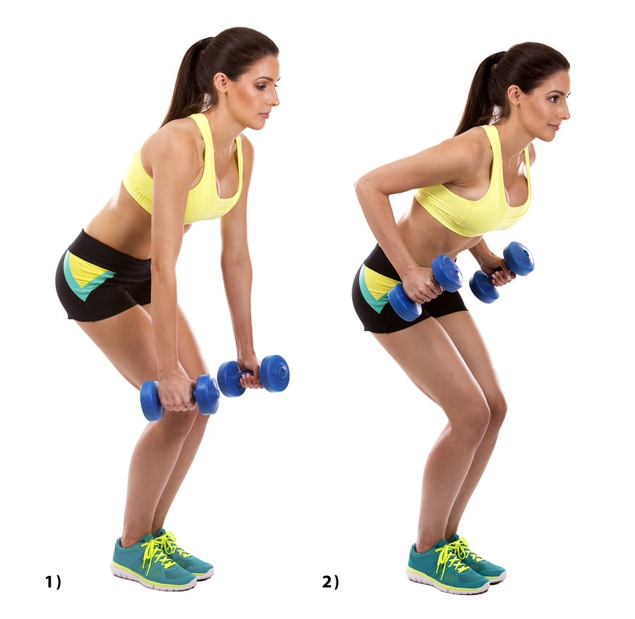 Bent over row exercise - Best strength training exercises over 50