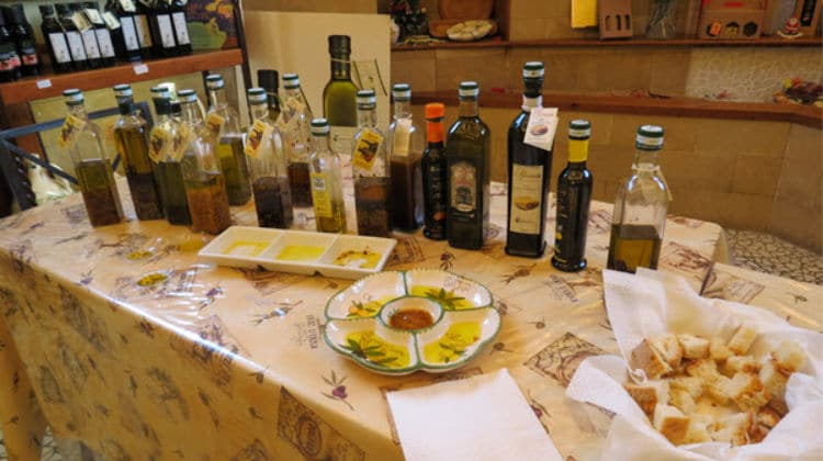 Cooking Oils - An Olive Oil Tasting in Sorrento, Italy