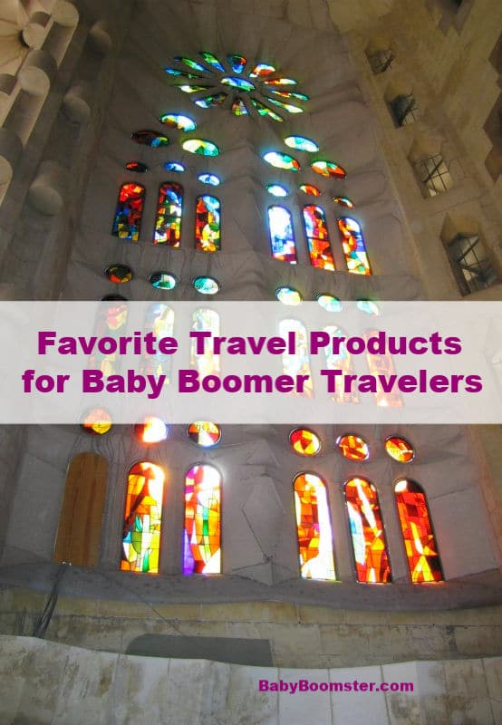 Favorite Travel Products for Baby Boomer Travelers #travel #babyboomers #boomertravel #travelgear