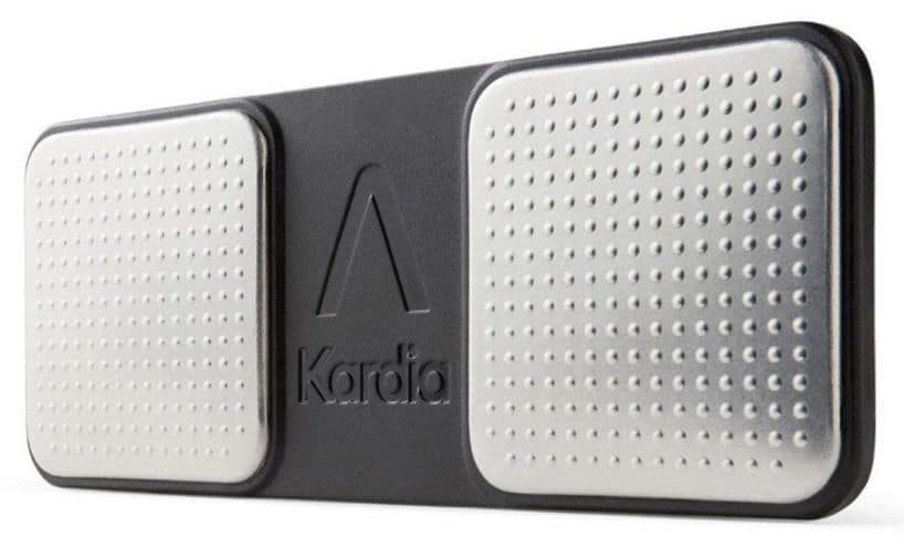 AliveCor Kardia Mobile Device - It captures your heartbeat, detects rhythm abnormalities, and symptoms of AFib #wearabledevice #healthmonitor #amazon #affiliate