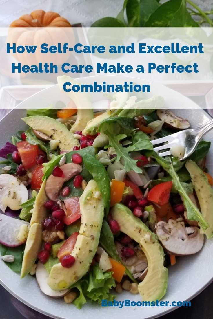 How Self Care and Excellent HealthCare Make a Perfect Combination #ad Anthem's Medicare Advantage Plan gives you benefits that provide wellness services like healthy food delivery, health-related transportation services, personal home helpers, and more! This health boosting salad recipe will help keep you well and well nourished.