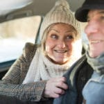 Essential wintertime driving tips for Baby Boomers - how to stay safe on the road. #babyboomers #midlife #drivingtips #winter #drivinginwinter