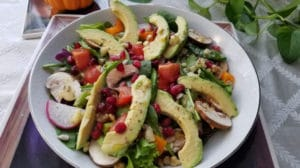 The best way to make sure you stay healthy is a combination of great healthcare and self-care - Health boosting salad