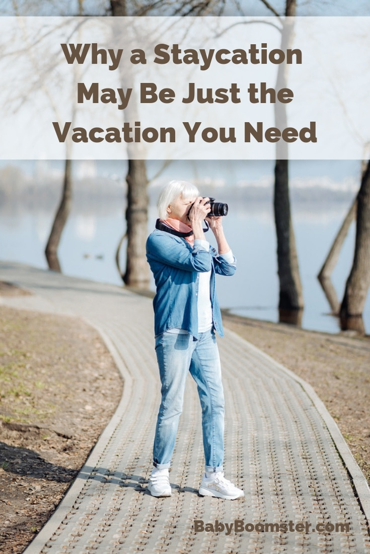Why a Staycation May Be Just the Vacation You Need - Can't go out of town? You can have a wonderful time staying home and visiting places nearby. Saves money and stress. #Staycation #Vacationathome #hometown #discoveryourcity #havefun #relaxingvacation #vacationnearby