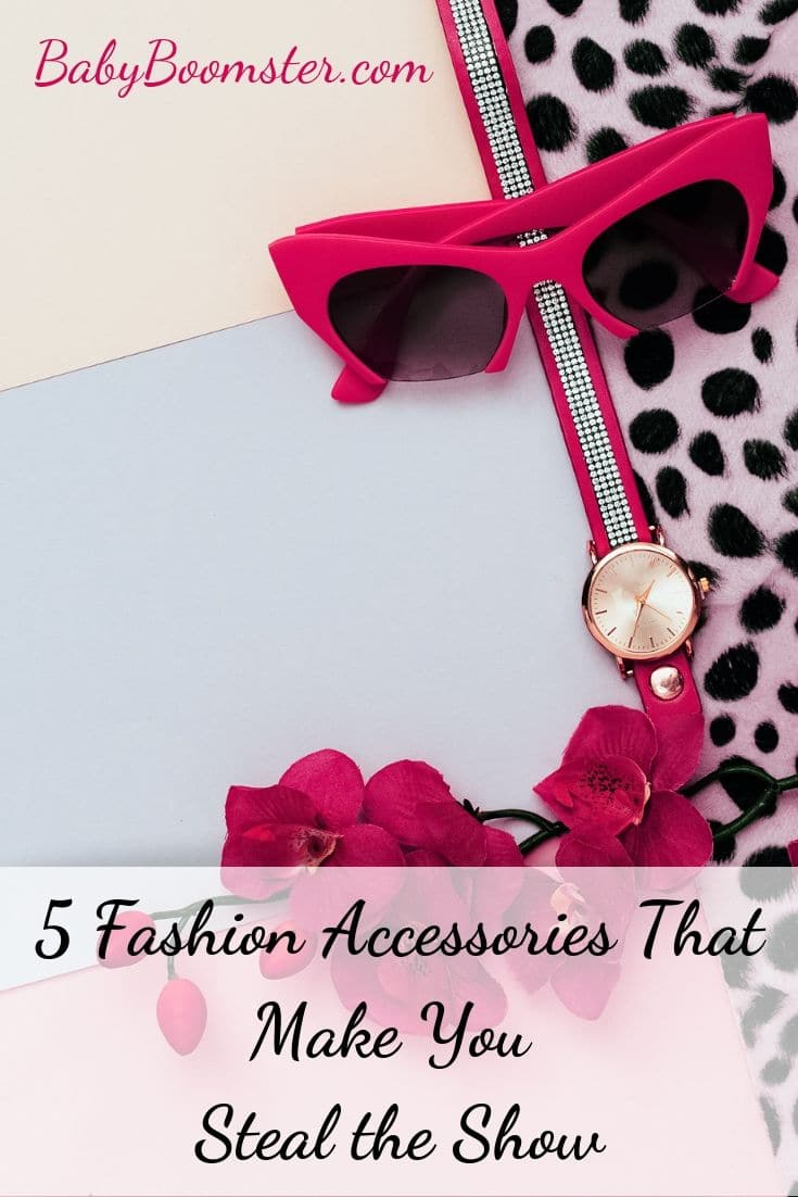 Women over 50 can use fashion accessories to stand out and show off their personal style. Here are 5 accessories you may want to consider. #womenover50 #styleover50 #fashionover50 #fashionaccessories #accessories #midlife