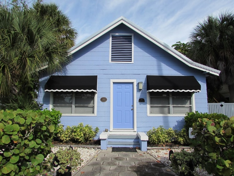A beach cottage in Pass-a-Grille, Florida