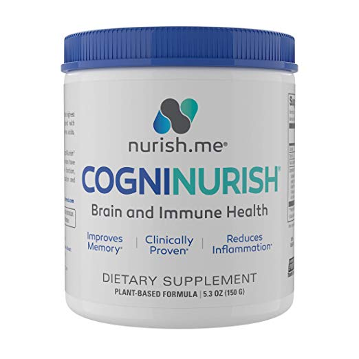 CogniNurish is a supplement to help treat cognitive and physical decline in people with Alzheimer's dementia #affiliate #brainhealth #alzheimers