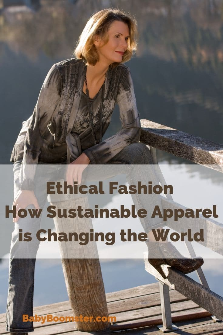 Clothing brands are turning to ethical fashion to prevent pollution, exploitation in the workforce and better working conditions for factory workers. We must all do our part to move toward sustainability for the future. #ethicalfashion #sustanablebrands #fashionover50 #styleover50 #midlife #changetheworld