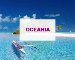 Travel in Oceania - what to see and do