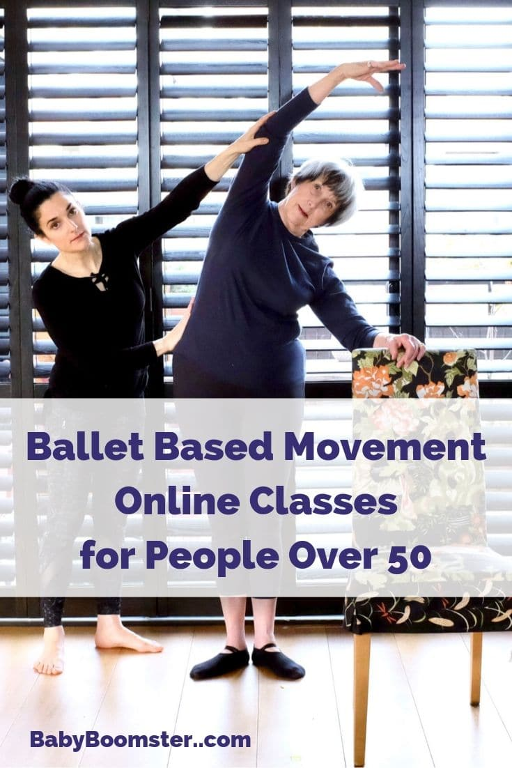 A mother and daughter team have designed ballet based movement online exercises for people over 50 for better flexibility.