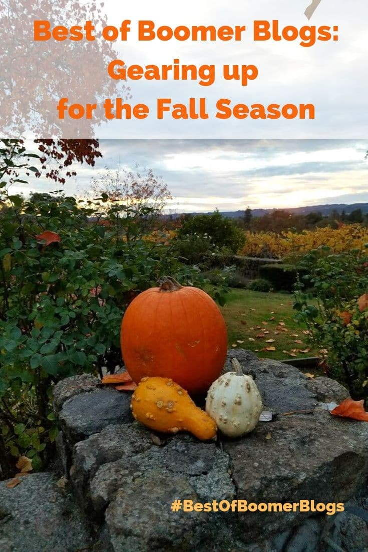 Best of Boomer Blogs - Gearing Up for the Fall - Image is a vineyard in #Napa #California #BestofBoomerBlogs #babyboomers #midlife