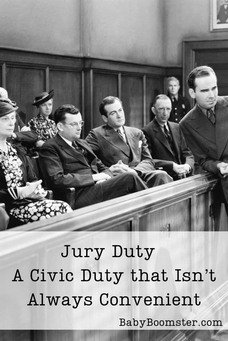 Jury Duty is important but sometimes it's inconvenient especially if you are self-employed or taking care of someone who is ill. #juryduty #jury #juryservice #civicduty