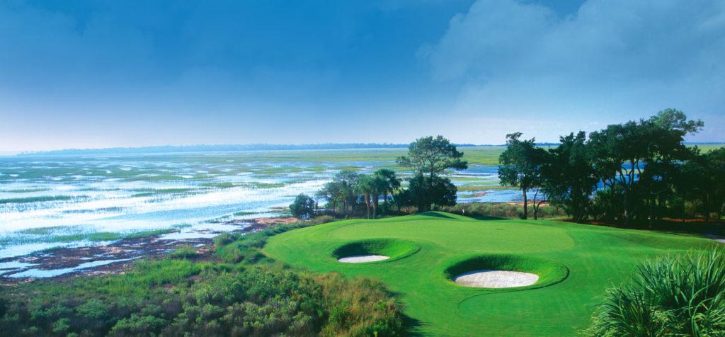 Golf Course at The Landings in Savannah, Georgia