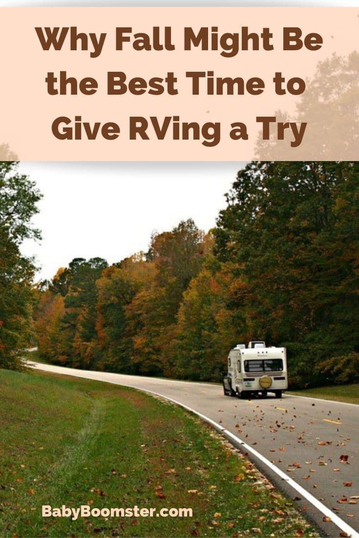 Rving in Fall