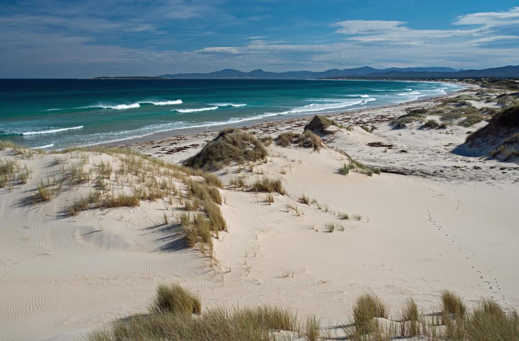 Peron Dunes Beach Tasmania