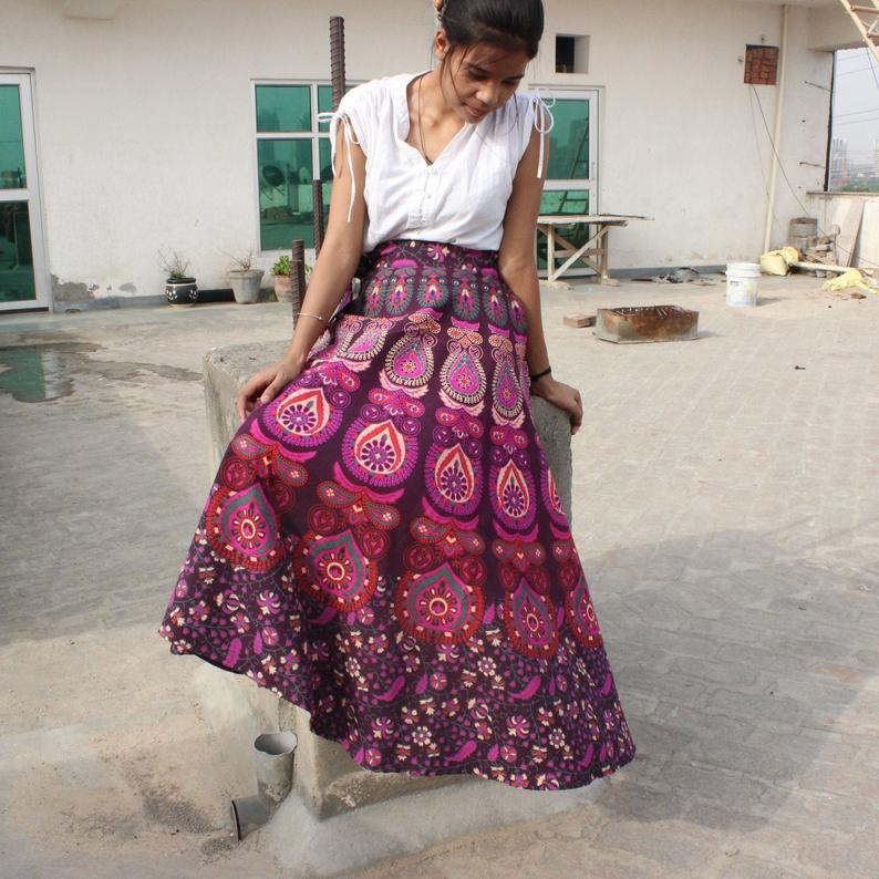 Gypsy style skirt - Boho-style