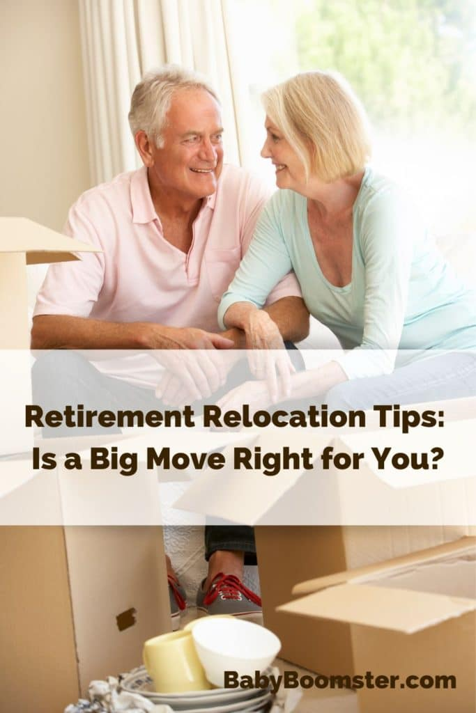 Retirement Relocation tips