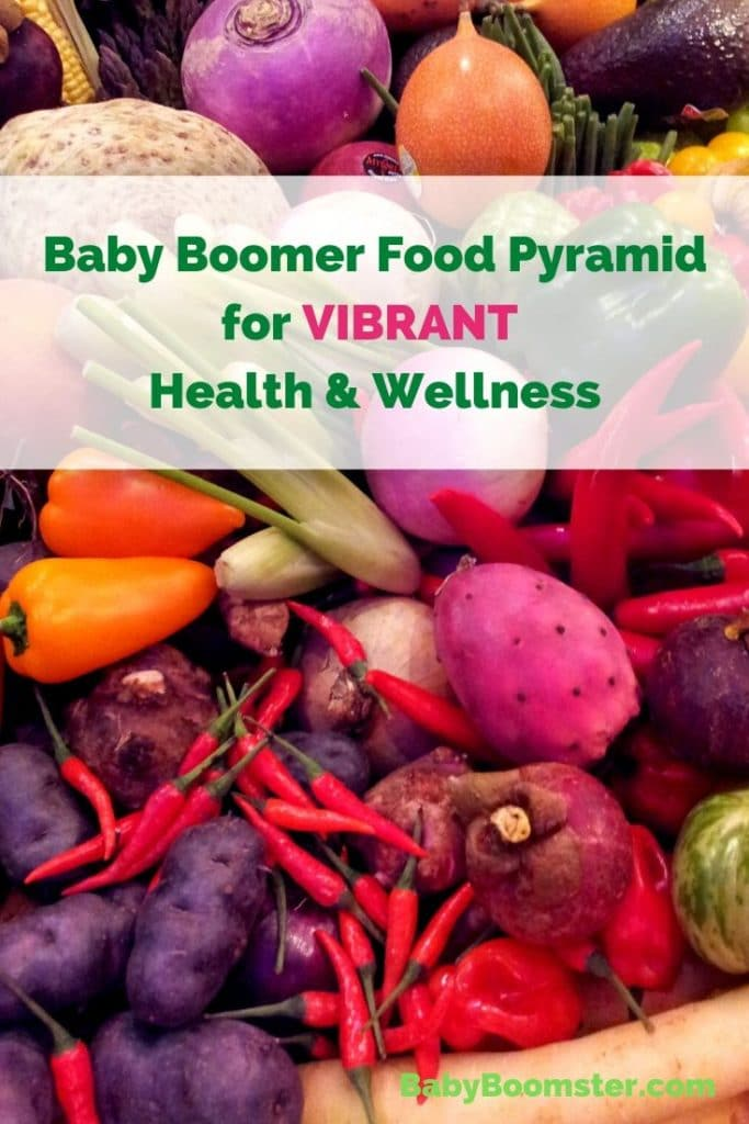 Baby Boomer Food Pyramid