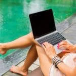 Freelancer working from pool