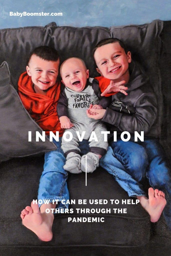 Innovation - how it can be used to help others through the pandemic