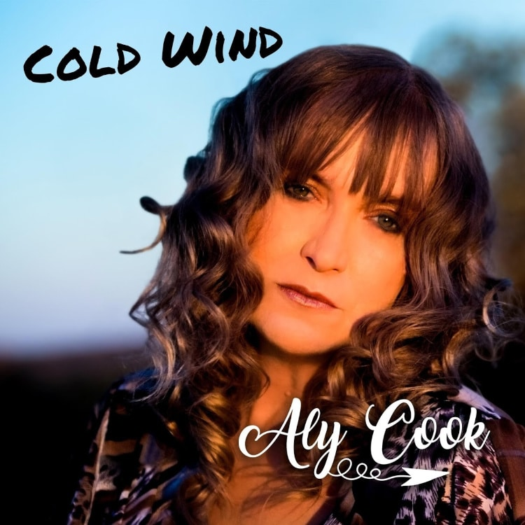 "Aly Cook is a Baby Boomer singer from New Zealand who has just released a new single called ""Cold Wind."""
