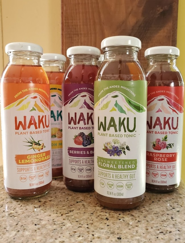 Waku Plant Based Tonics